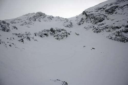 Couloir du Petit Van excellent à skier