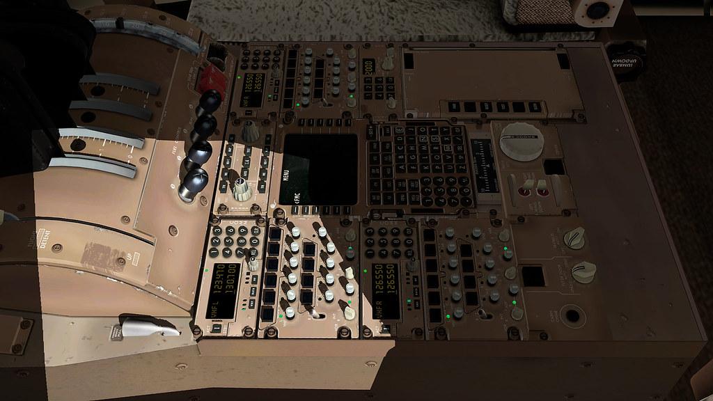 Novas texturas para o cockpit do 747-800 da SSG 23949892017_1d359fd829_b