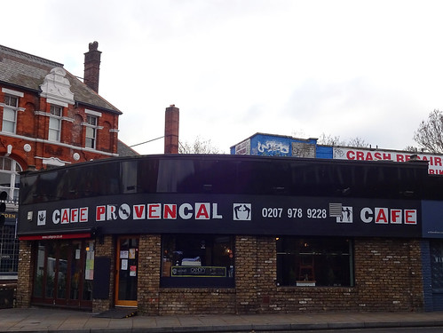 Cafe Provencal, Herne Hill, London SE24