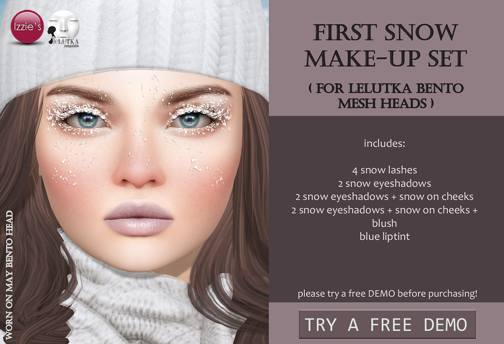 First Snow Make-Up Set (LeLutka Bento)
