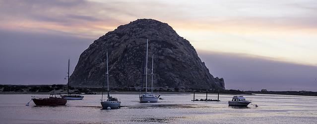 Morro Bay Rock Panorama- 20171210, RICOH PENTAX K-3 II, smc PENTAX-DA 70mm F2.4 Limited
