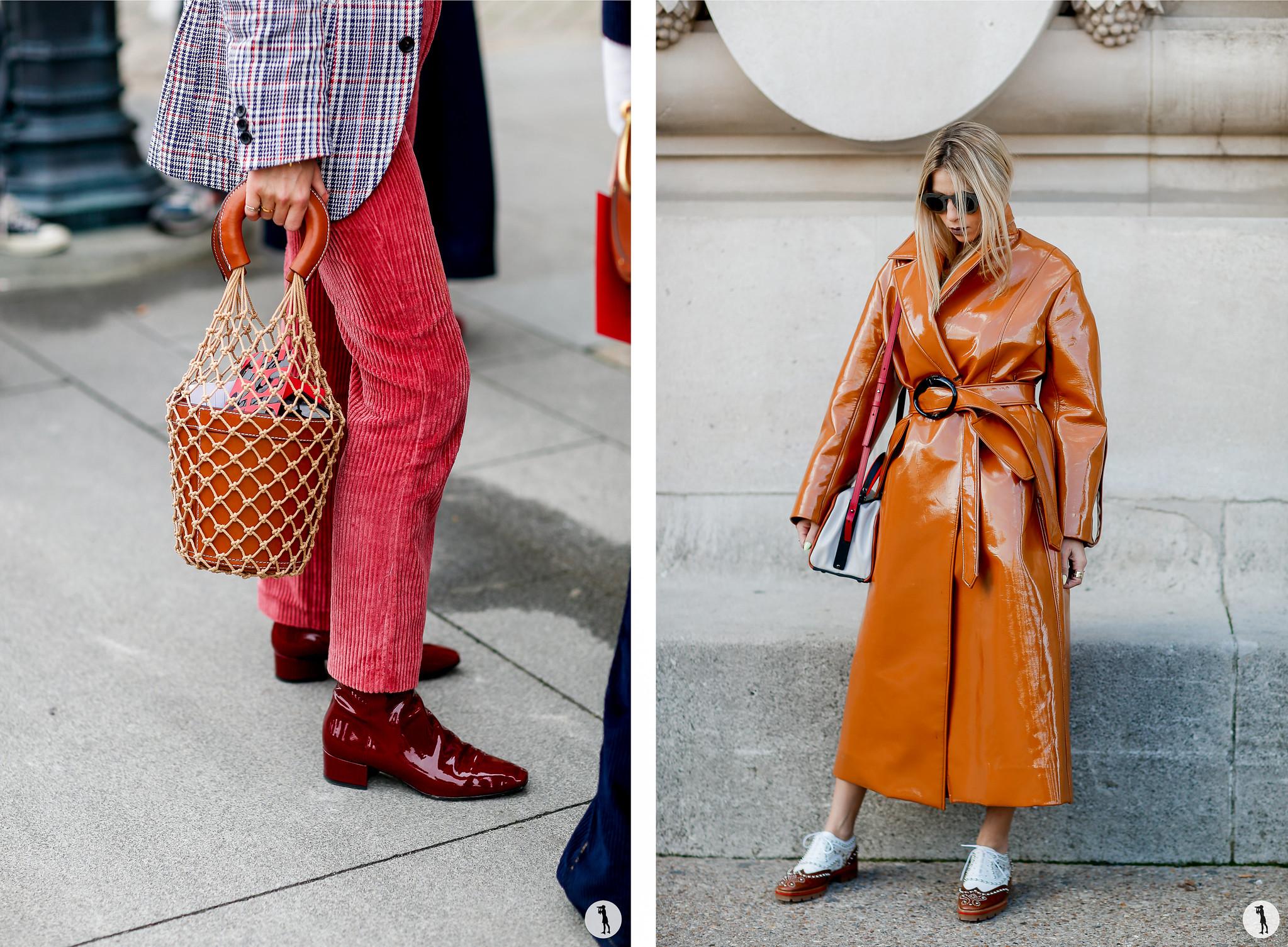 Street style - Paris Fashion Week SS18