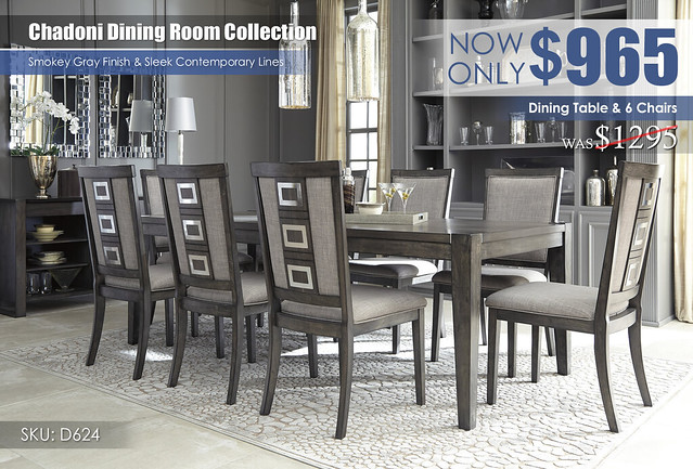 Chadoni Dining Room Collection D624