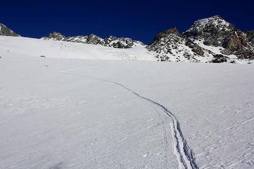 Sur le Glacier de Chavière