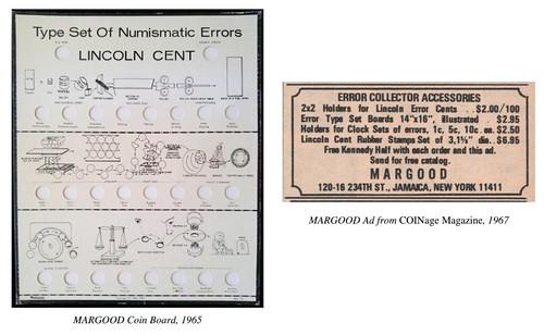 MARGOOD coin board