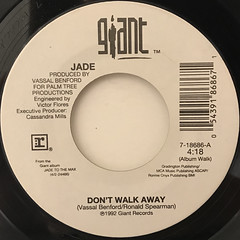 JADE:DON'T WALK AWAY(LABEL SIDE-A)