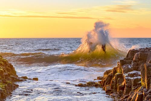 people bunbury rocks backbeach wa sunset surfboarders caughtinawave