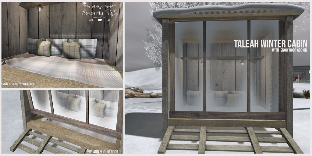 Serenity Style- Taleah Winter Cabin - TeleportHub.com Live!