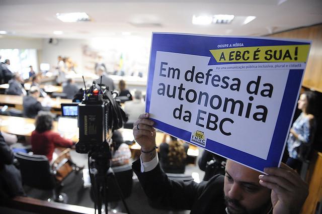 Novo código pode limitar a atuação em defesa da comunicação pública, dizem funcionários - Créditos: Senado Federal