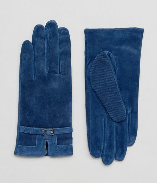 ASOS перчатки синие 1