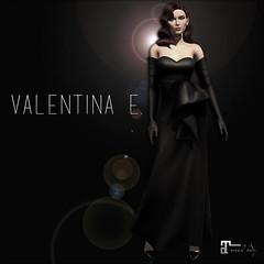 NEW! Valentina E. Gilda Satin Gown & Gloves @ Rewind!