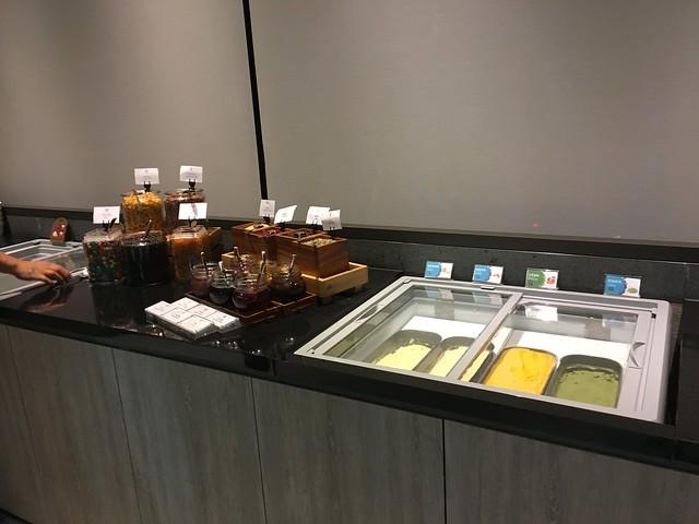 冰淇淋、果醬、脆片@宜蘭礁溪寒沐酒店