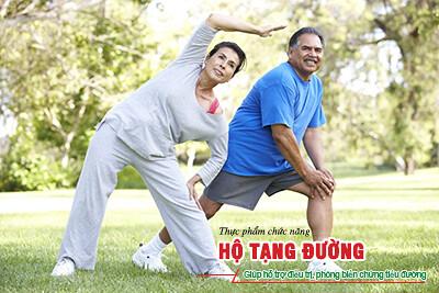 Tập thể dục giúp người tiểu đường sống khỏe mạnh hơn