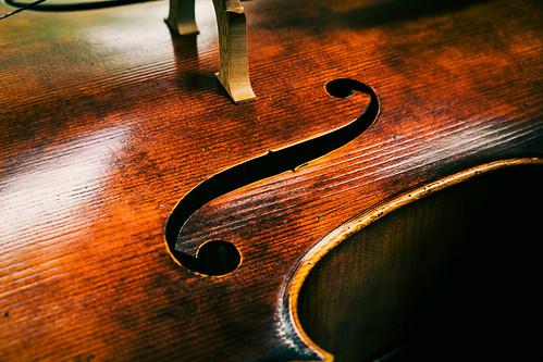 The Cello F Hole