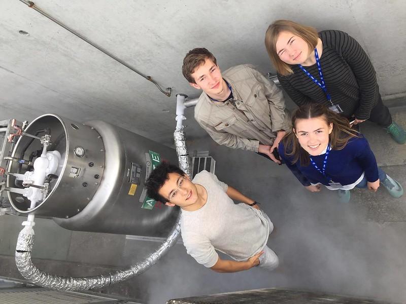 Elisabeth (3TAF) på CERN-internship