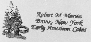 Robert Martin stamp from Roper