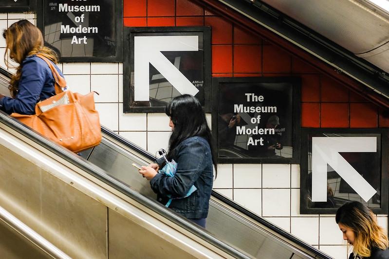 Walk In York - NYC 2017 - Subway Moma