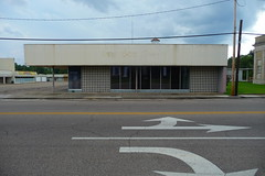 Shopping Center.  Columbia, Marion County Miss.