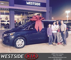 #HappyBirthday to Maria from Orlando Baez at Westside Kia!