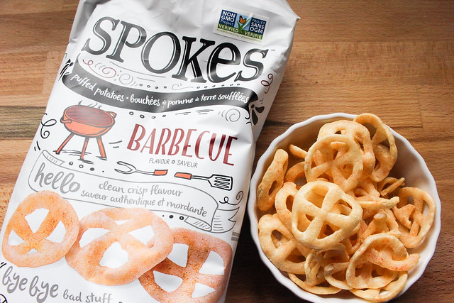 Product Review of Spokes Air-Puffed Potato Snacks