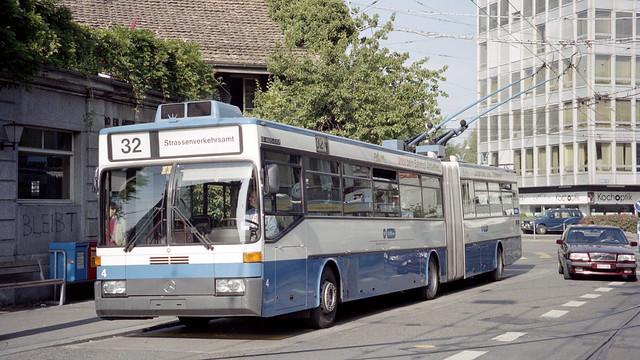 1998-09-24 Zürich Trolleybus Nr.4