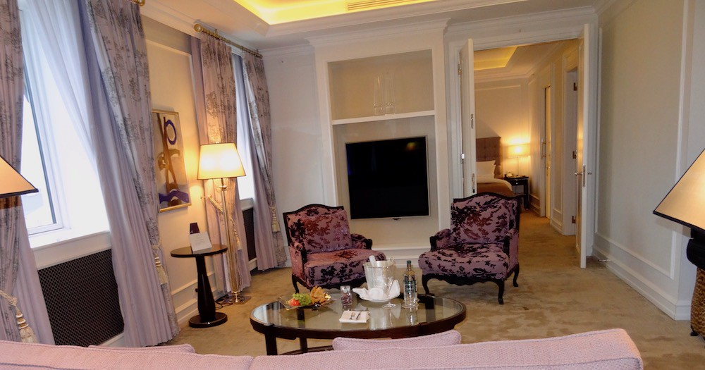 Hotel D'Angleterre Deluxe One-Bedroom Suite