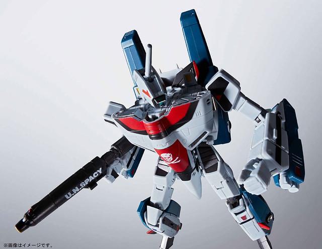 【更新官圖&販售資訊】HI-METAL R 《超時空要塞:愛‧還記得嗎 》劇場版 超級武神機(一条輝專用機)! VF-1A スーパーバルキリー(一条輝機)