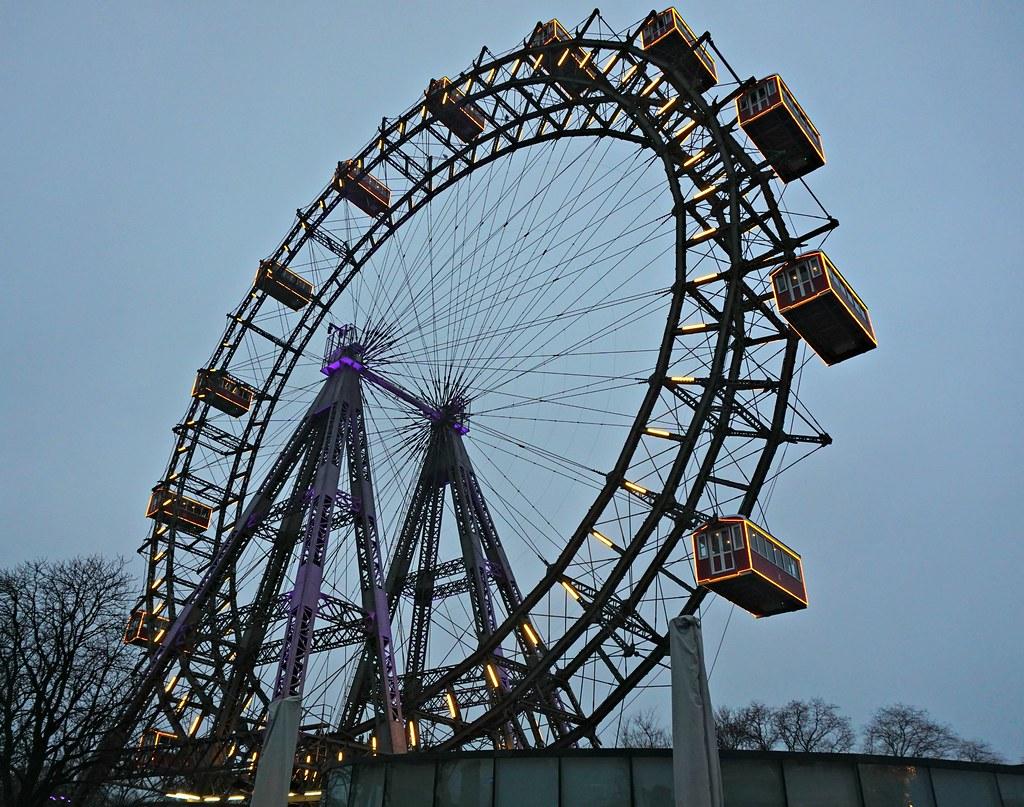 Wienin kuuluisa maailmanpyörä Riesenrad
