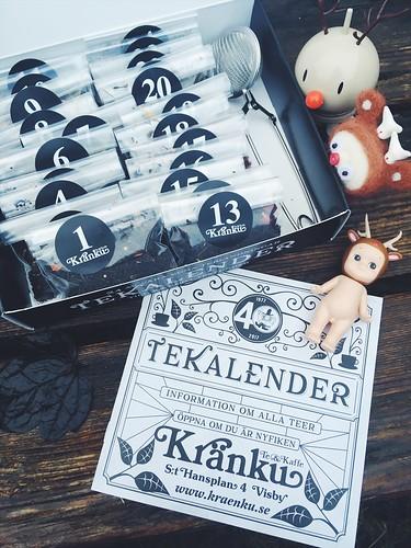 kränku tea calendar 2017 - 40 years jubilee