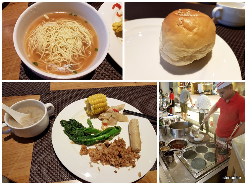 Tongyuan Hotel breakfast food