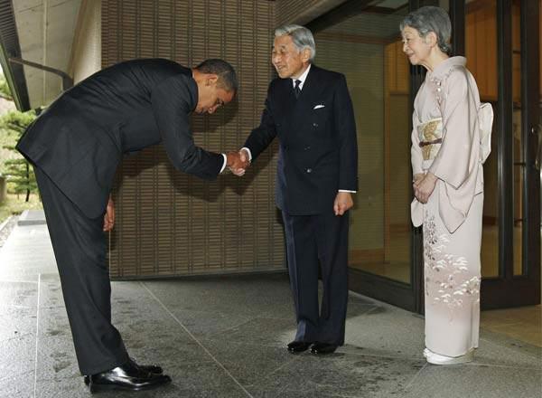 أوباما خلال زيارة لليابان