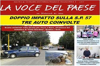 Noicattaro. Prima pagina n. 45-2017 front