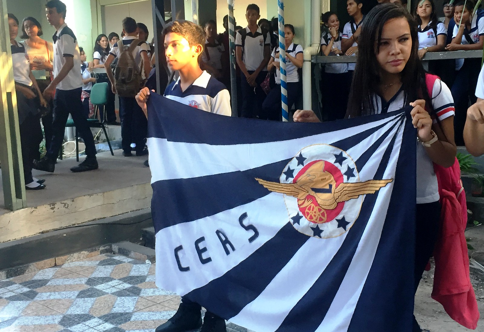 Bandeira do Rodrigues dos Santos