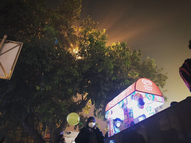 Faces of the Smoggy Night