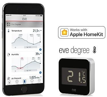 Elgato(エルガト) Eve degree 温度湿度計 写真 (2)