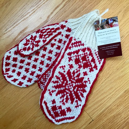 new mittens!
