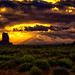 The Mittens, Monument Valley, Arizona by concho cowboy