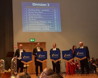 Division 2 - Vinnare Immanuel Brass Stockholm