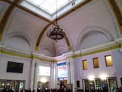 İçerinden Lviv Tren Garı