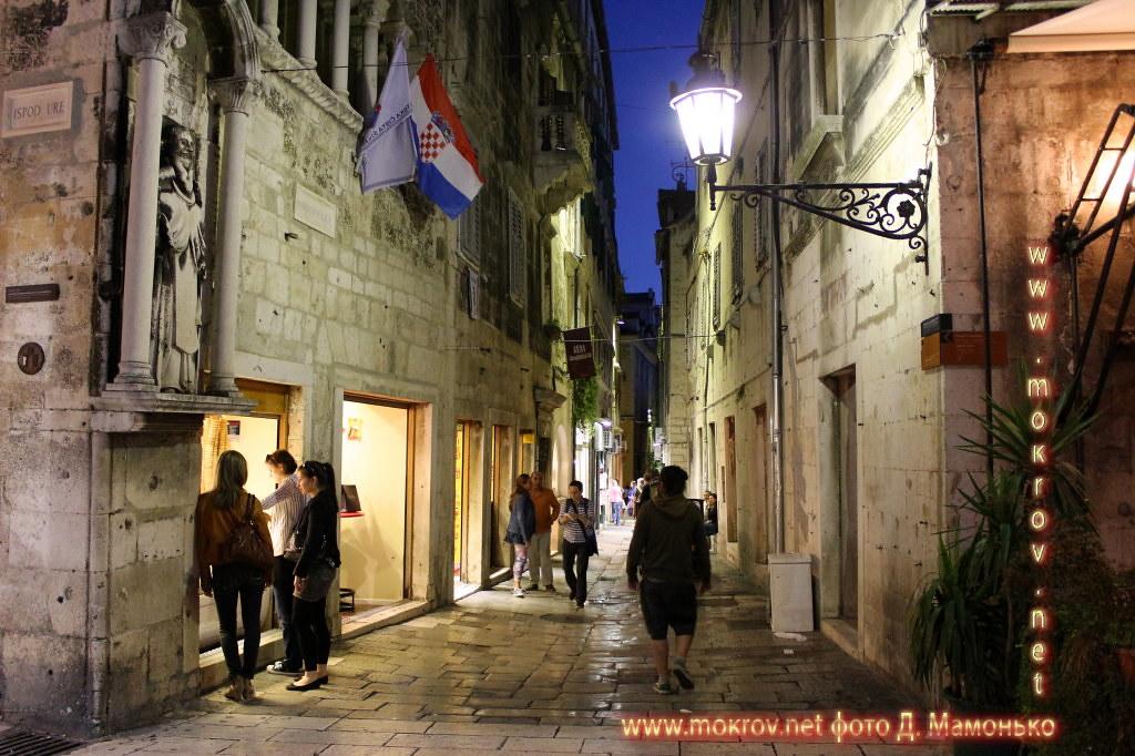Исторический центр Сплит — город в Хорватии живописные и необычные фотографии