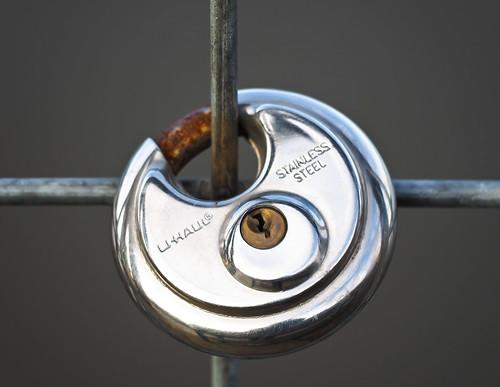 Stainless Steel Round Lock