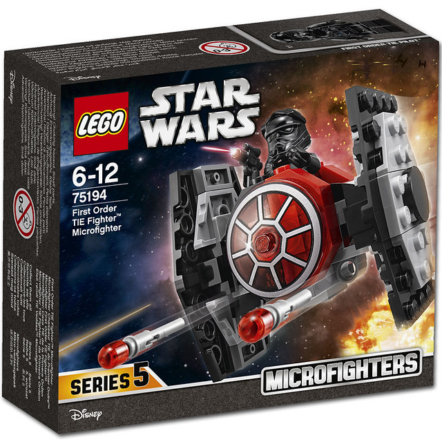 LEGO Star Wars 75194 - First Order Tie Fighter