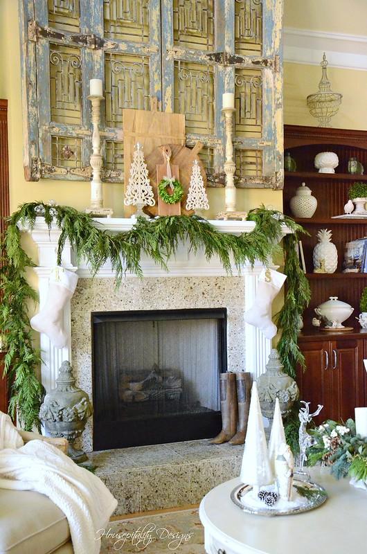 Christmas Mantel-Housepitality Designs