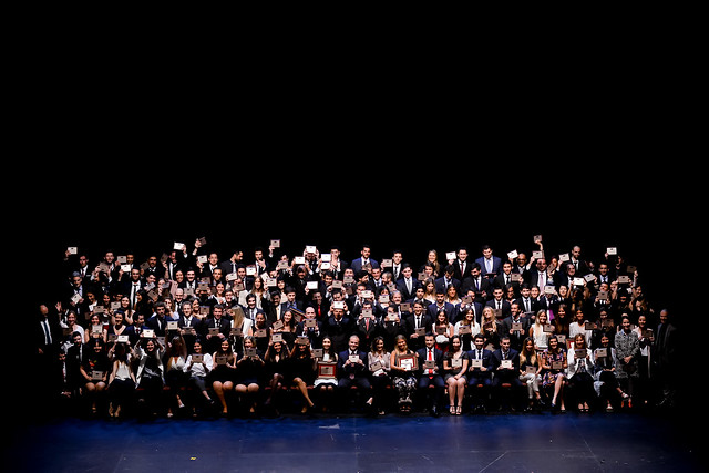 Tercera ceremonia anual de graduación de carreras universitarias - 2017