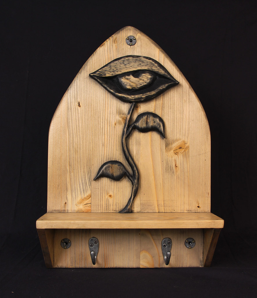 Flower Eye Shelf Altar