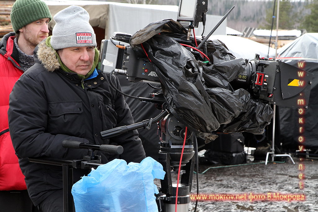 Сергей Вальцов с кинокамерой