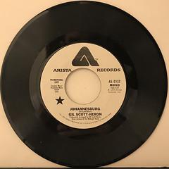 GIL SCOTT-HERON:JOHANNESBURG(RECORD SIDE-A)