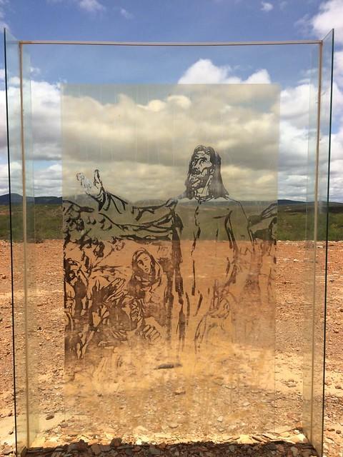1912f34207 Imagem exposta no Parque Estadual de Canudos