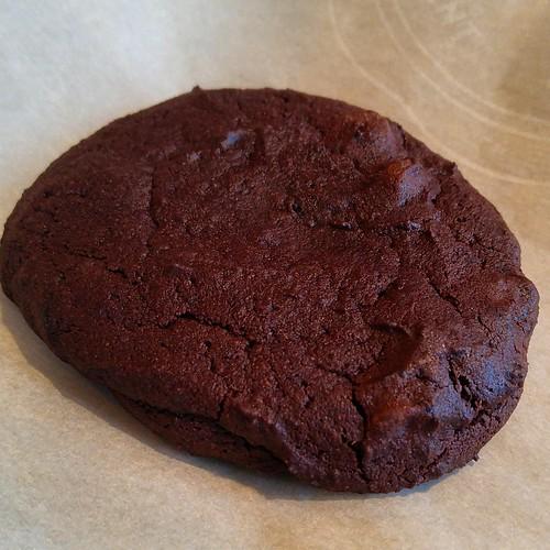 Red Wine and Dark Chocolate Cookies