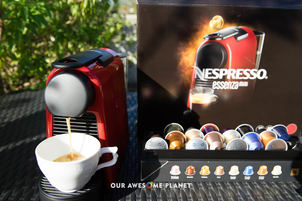 My Nespresso at Home! (and Nespresso Boutique)
